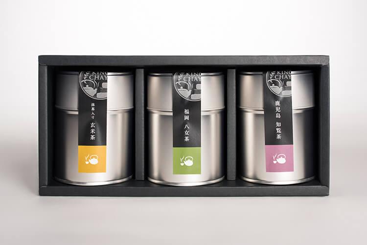 お茶ギフトのデザイン