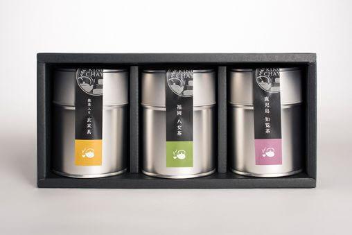 お茶ギフトのパッケージデザイン
