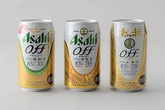 ASAHI OFFのパッケージデザイン