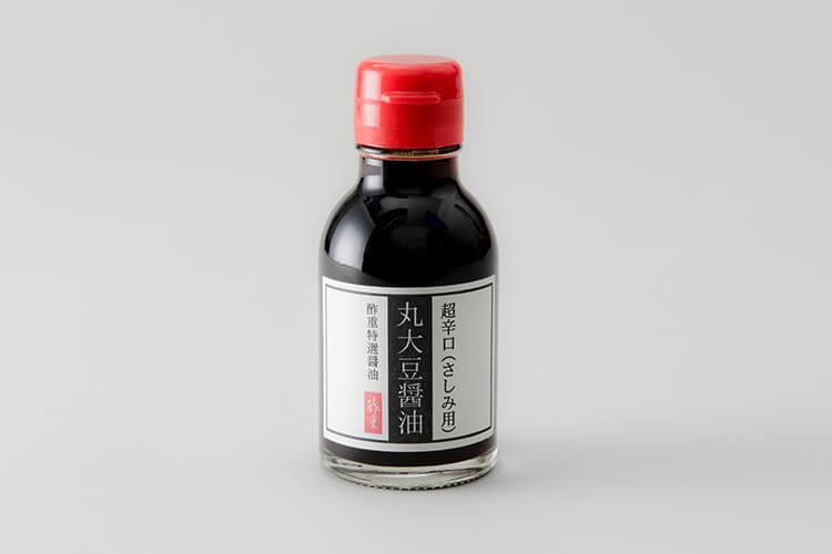 丸大豆醤油のデザイン
