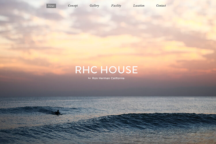 RHC HOUSE by Ron Herman Californiaのデザイン