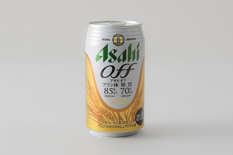 ASAHI OFFのデザイン