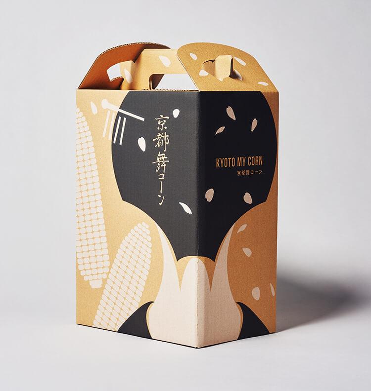 京都 舞コーンのデザイン